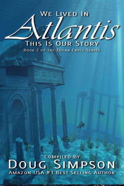 Atlantis underwater scene - cover of Atlantis book