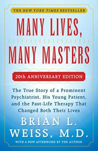 Image of Brian Weiss' book cover Many Lives, Many Masters